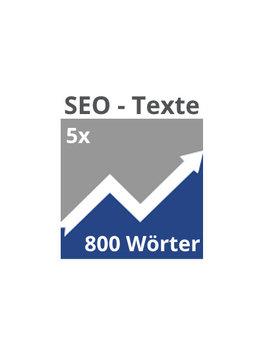 5x SEO-Texte (800 Wörter)