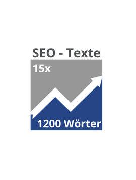 15x SEO-Texte (1200 Wörter)