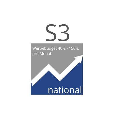 SEM Paket National S3 (24 Monate)