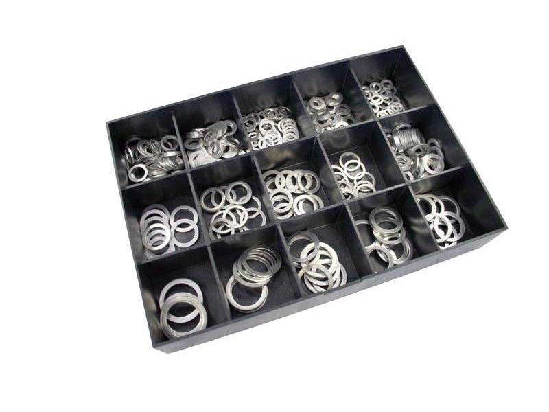 Aluminium Ringen Set 400-delig
