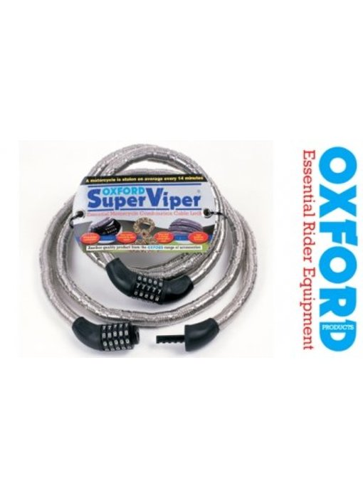 Oxford Super Viper Combinatie kabelslot