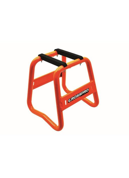 CrossPro Paddockstand Aluminium oranje
