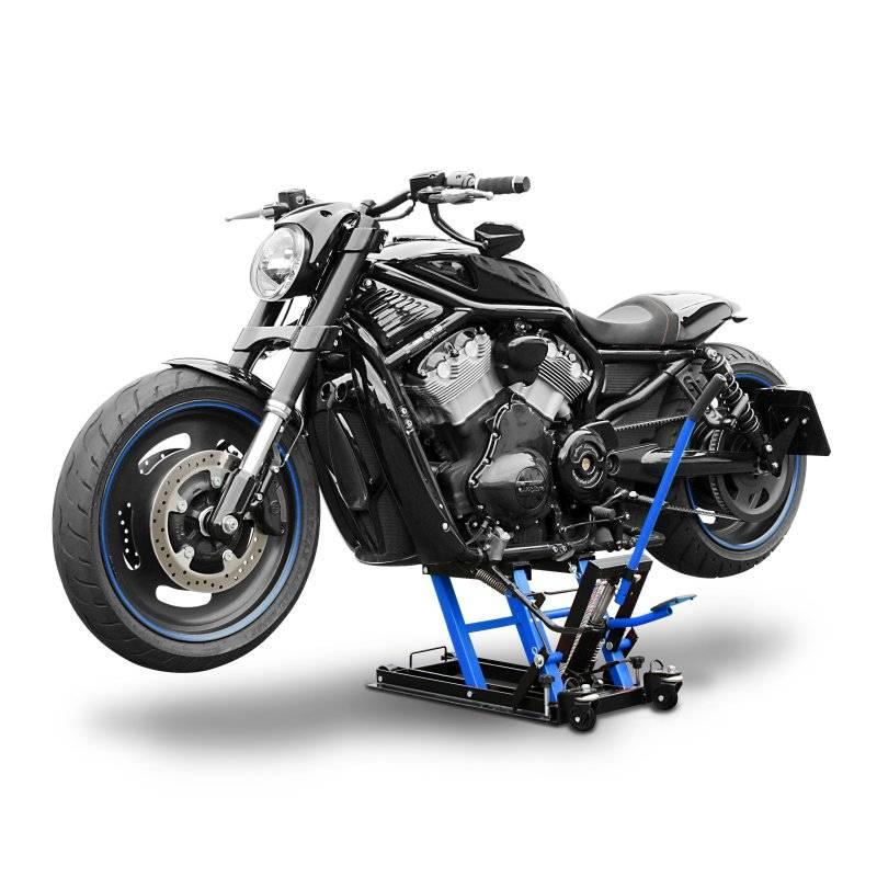 hydraulische motorlift met zwenkwielen zeer robuust motorworkx tools equipment. Black Bedroom Furniture Sets. Home Design Ideas