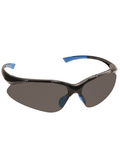 Veiligheidsbril grijs getind