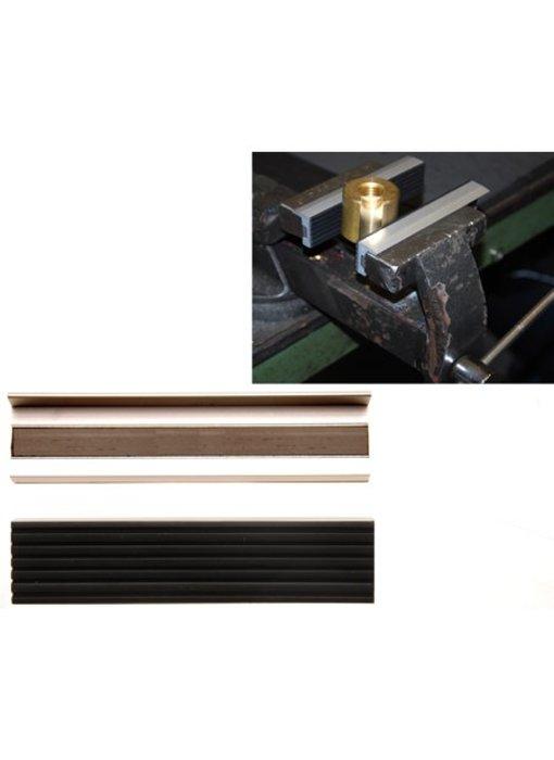 Rubber gecoat alluminium beschermers 125 mm