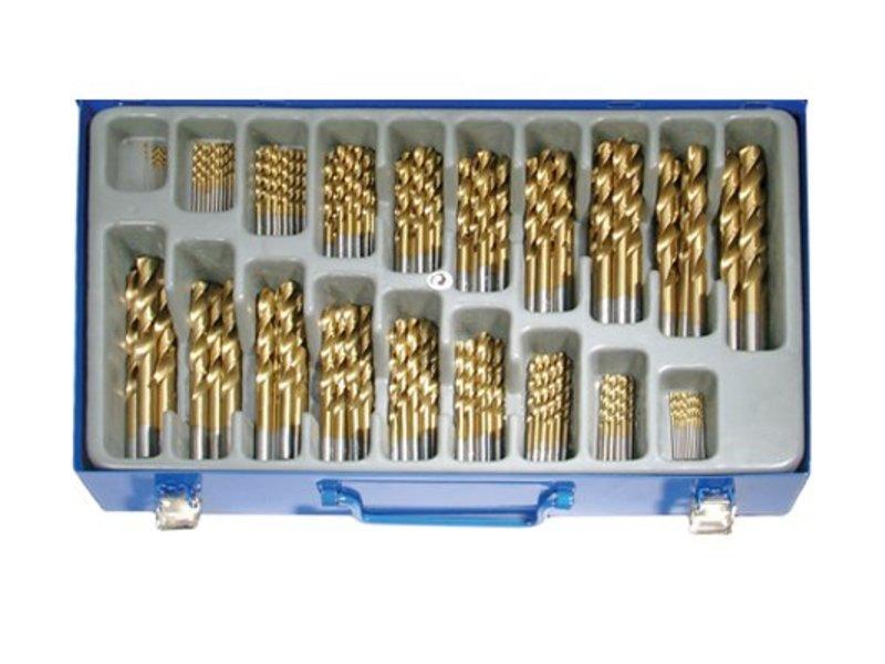 BGS 170-delige borenset titanium
