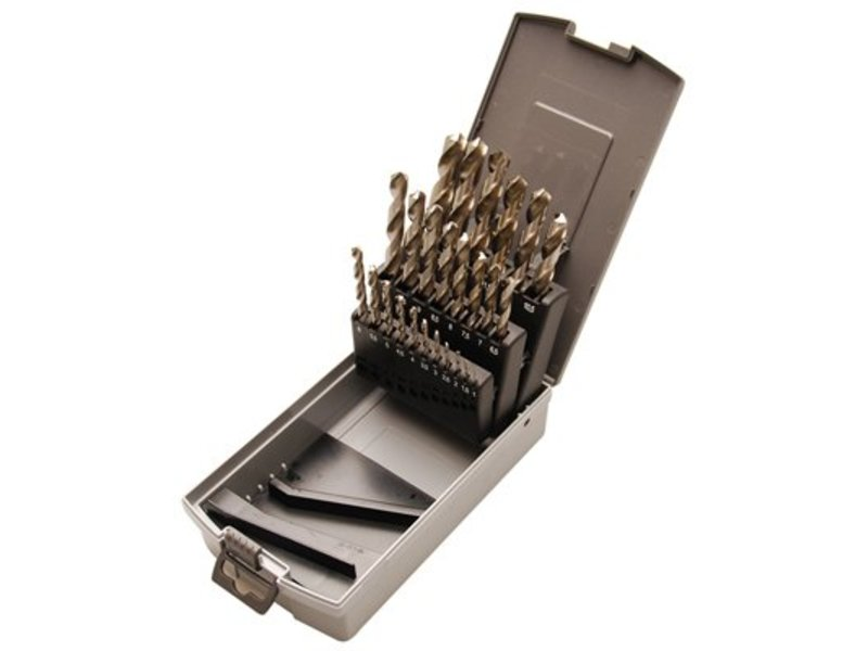 BGS 26-delige HSS borenset 1-13 mm