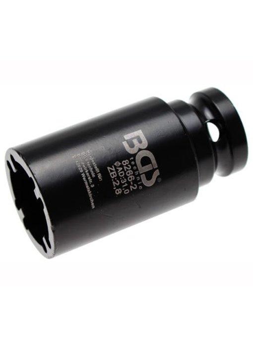 BGS Kroonmoer dopsleutel 40.5 mm BINNEN