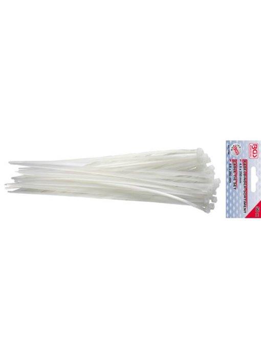 BGS Kabelbinder/ tie wraps 4.8x250