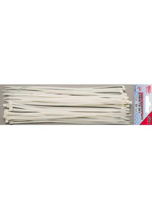 BGS Kabelbinder/ tie wraps 4.8x300
