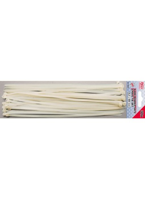 BGS Kabelbinder/ tie wraps 8x400