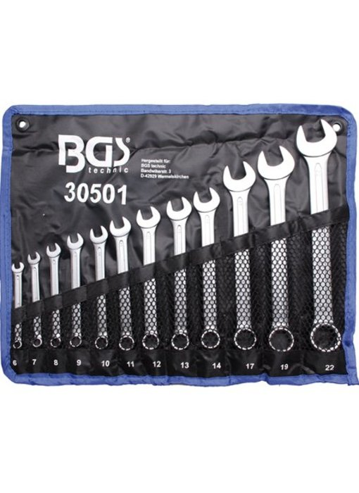 BGS Steekring sleutelset 6-22 mm12-delig
