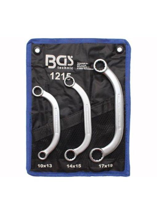 BGS Ring-sleutelset U-type 10x13-17x19