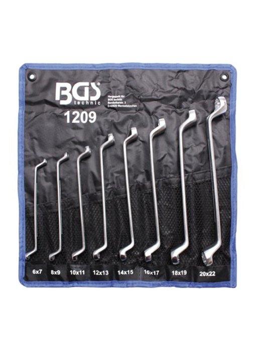 BGS Ringsleutel set diep 6x7-20x22