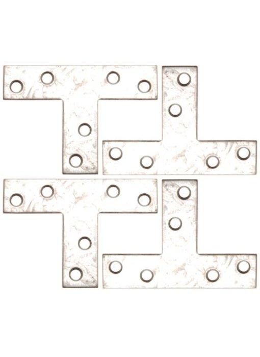 BGS T-verbind stuk 70x50x16 4-delig