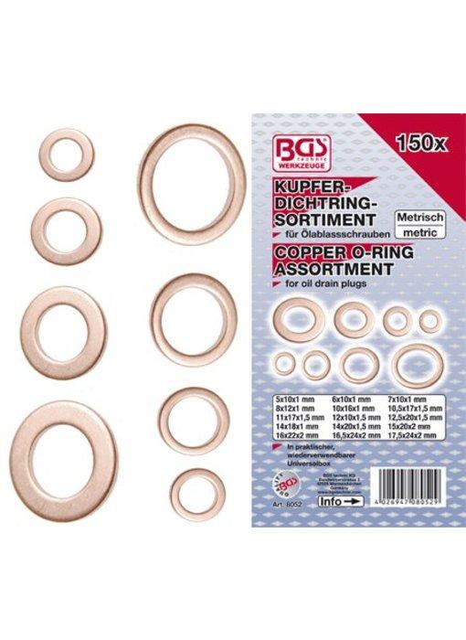 BGS Koperen ringen 150-delig