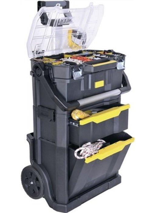 Stanley Rollende gereedschapsbox met sorteervak verdeling