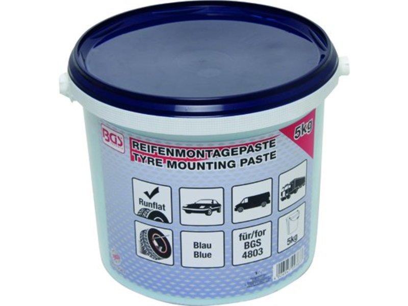 BGS 5kg bandenvet blauw voor Run Flat banden