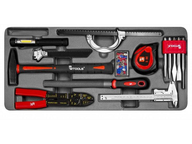 MW Tools Harmonica gereedschapskist 185-delig