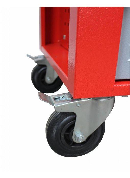 MW Tools Gereedschapswagen met topkist 700-delig