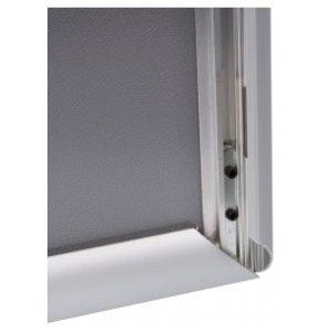 A4 klikkader 25mm frame met rechte hoeken