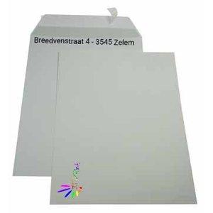 C4 324x229mm enveloppen 4/1 bedrukking zonder venster