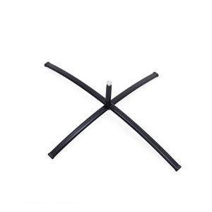 Demonteerbare kruisvoet voor binnen- of buitengebruik. Handig om mee te nemen en overal gemakkelijk te plaatsen