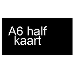 A6 half inkomkaarten 300g mat