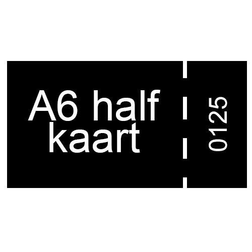 A6 half inkomkaarten