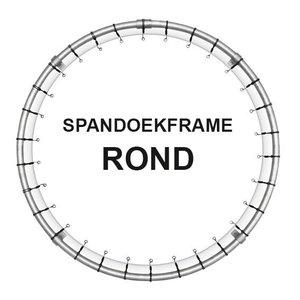 Spandoekframes rond met buisdiameter van 48 mm