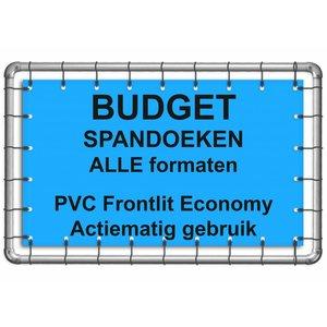 Budget spandoek PVC Frontlit Economy 400g