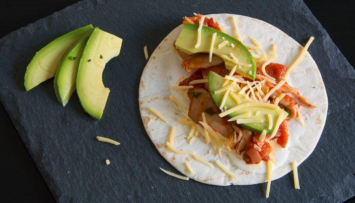 Mexicaanse kiptaco's zonder kant-en-klare kruidenmix met chipotle