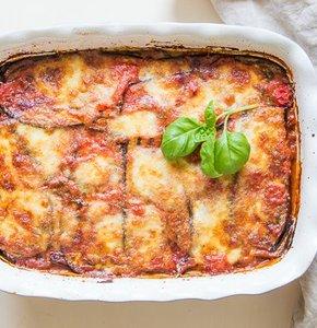 Authentiek Siciliaanse aubergine lasagne zonder pasta
