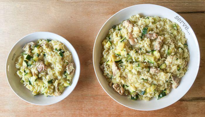 Maak zelf zonder pak het Italiaanse wereldgerecht risotto