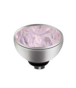 Melano Zirkonium Pink - Zilver zetting