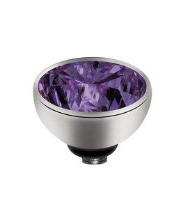 Melano Zirkonium Purple - Zilver zetting