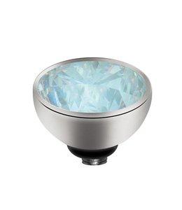 Melano Zirkonium Maansteen - Zilver zetting