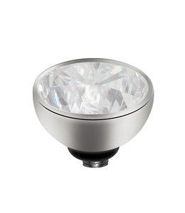 Melano Zirkonium Crystal - Zilver zetting