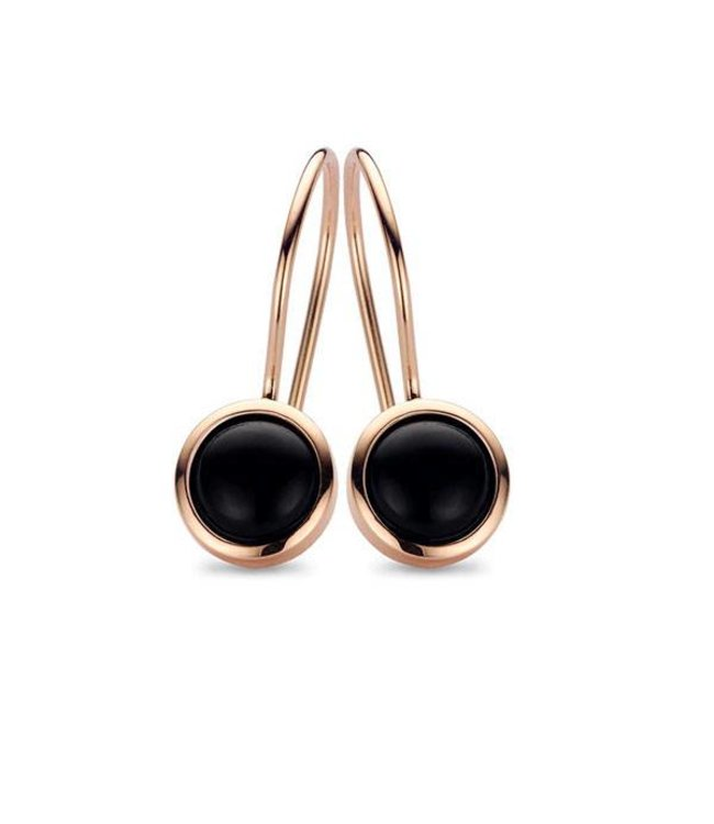 Casa jewelry Ooring Chara rosé - Onyx