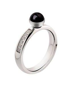 Melano Ring Zilver Zirkonia
