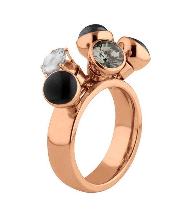Melano Twisted Ring Tess rosé