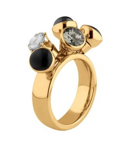 Melano Twisted Ring Tess Goud