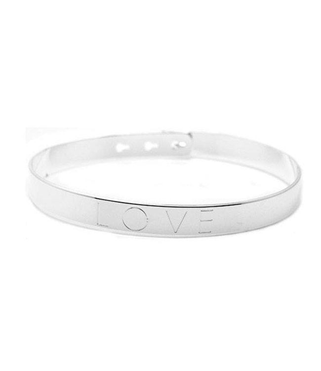 Mya Bay Armband Love zilver