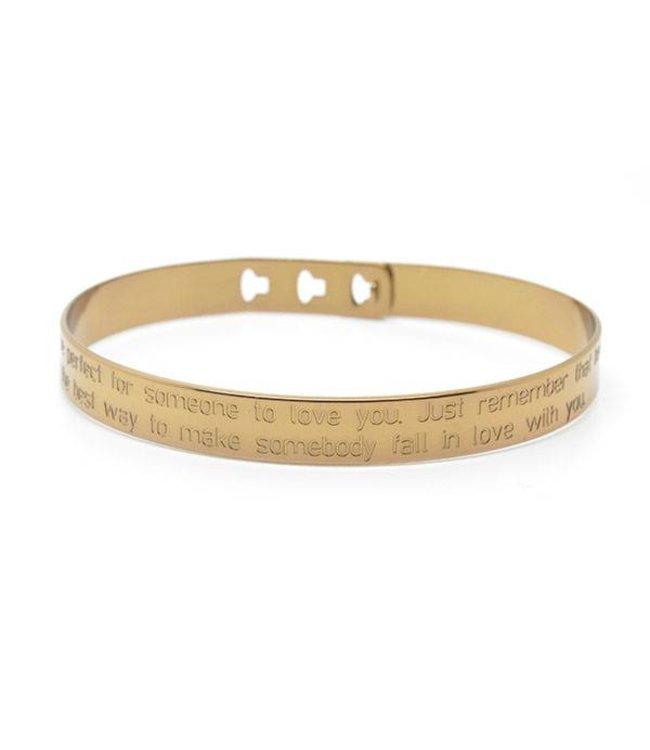 Mya Bay Armband Lola brons