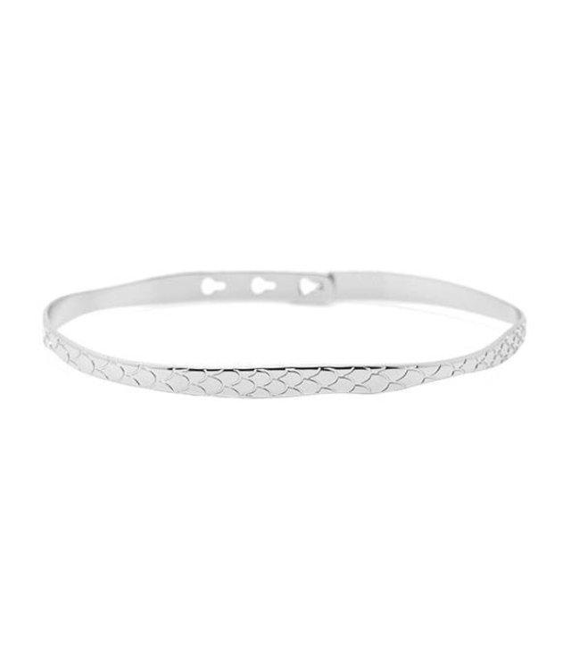 Mya Bay Armband Python zilver
