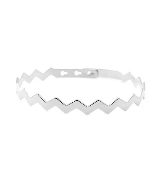 Mya Bay Armband Zig Zag zilver