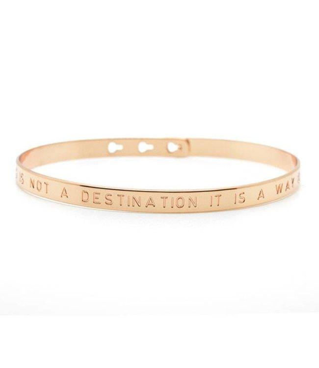 Mya Bay Armband Suzanne rosé