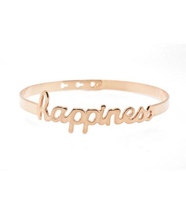 Mya Bay Armband Happiness rosé