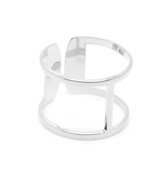 Mya Bay Ring Icone zilver