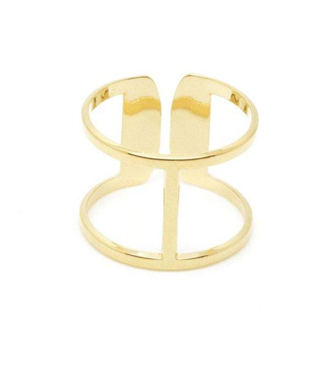 Mya Bay Ring Icone goud